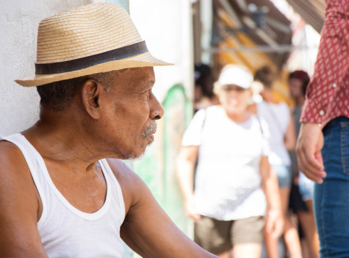 People portraits in Cuba